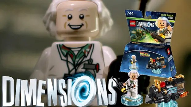 LEGO Dimensions DocBrown