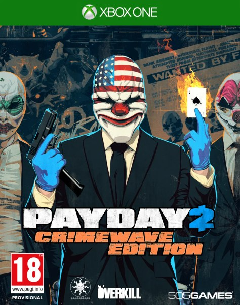 PayDay 2 Crimewave Edition llega a Xbox One
