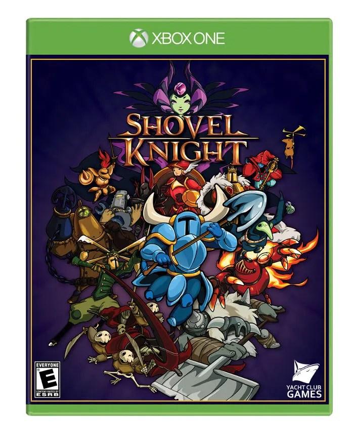 edición física de Shovel Knight