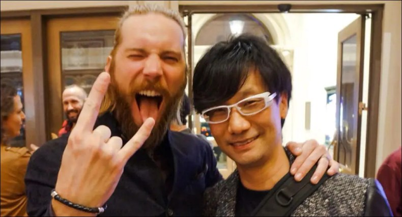 Troy Baker habla de Hideo Kojima