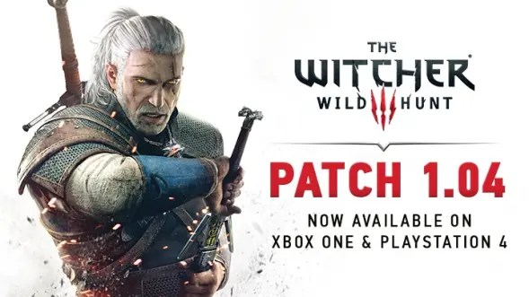 parche 1.04 de The Witcher 3