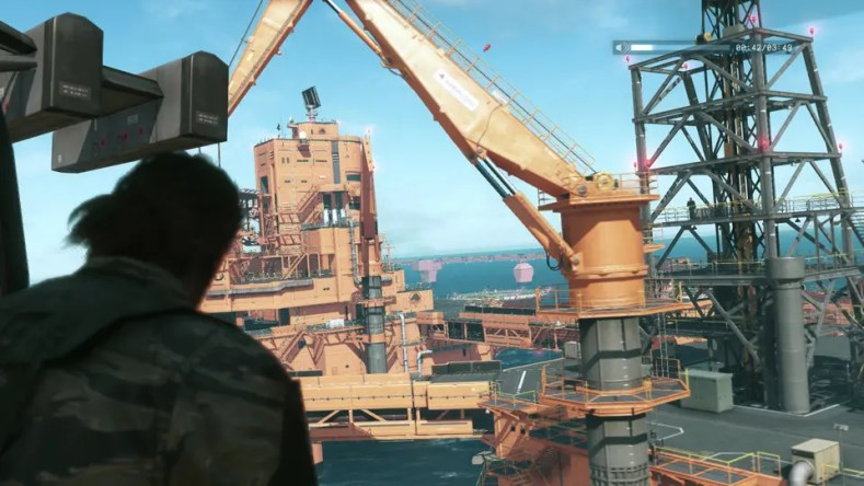 gameplay de Metal Gear Solid V: The Phantom Pain con motivo de la Gamescom