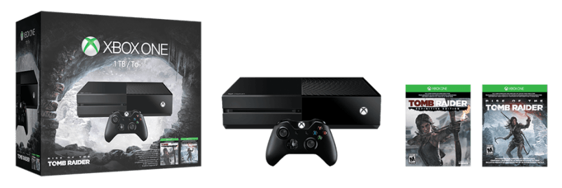 Xbox one rise tomb raider