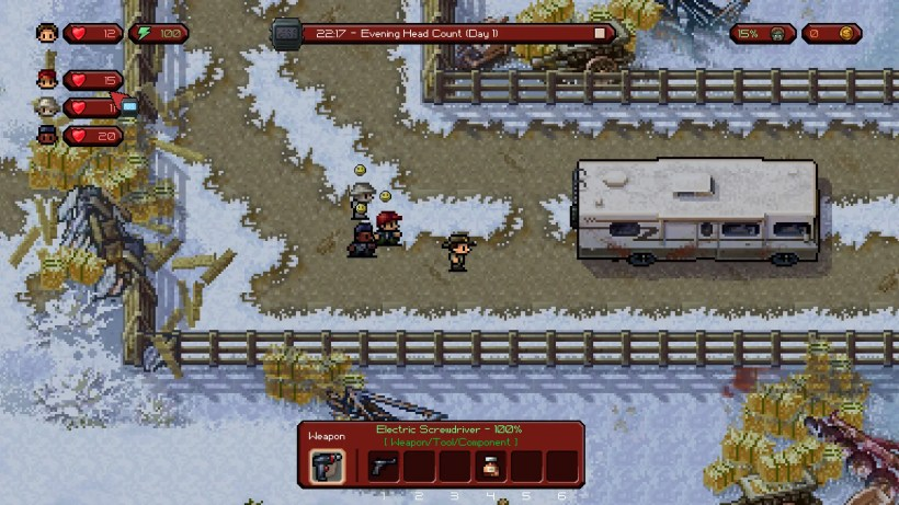 the escapists the walking dead 2