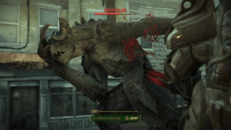 Deathblow fallout 4