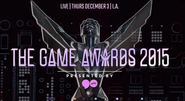 Todo lo que debes saber de The Game Awards 2015