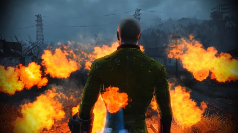 opening de One Puch Man en Fallout 4
