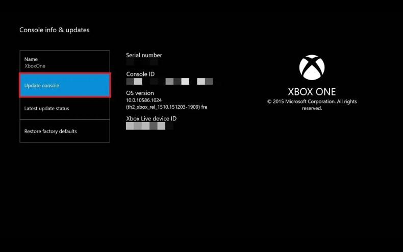 update-console