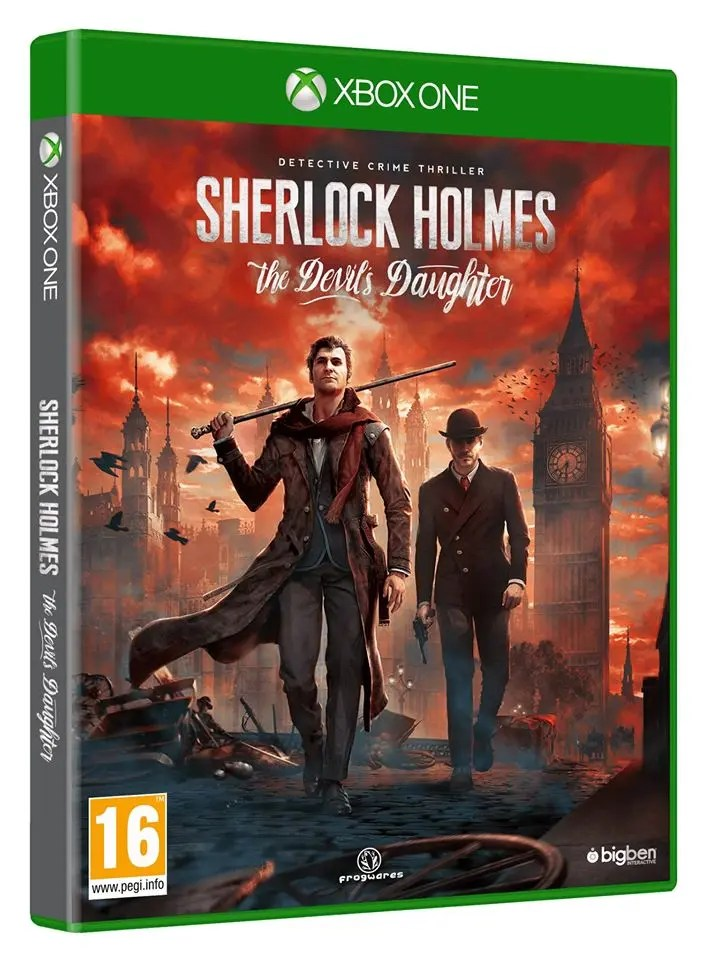lanzamiento de Sherlock Holmes: The Devil's Daughter en Xbox One