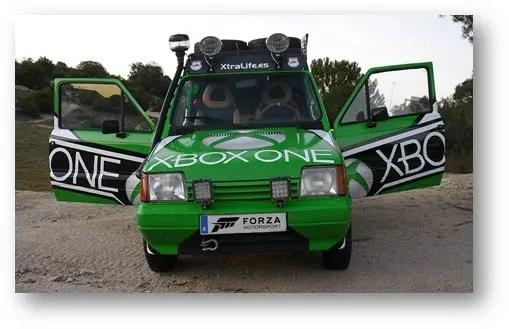 Panda Raid de Marruecos Xbox