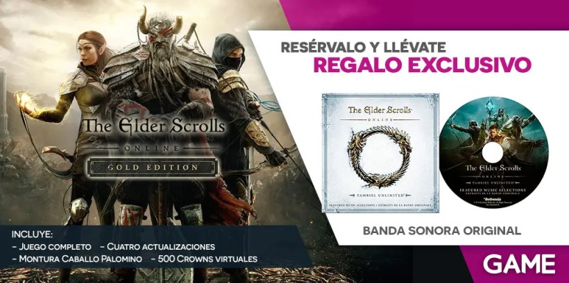 The Elder Scrolls Online Gold Edition reserva