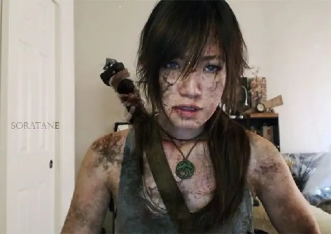 soratane cosplay tomb raider