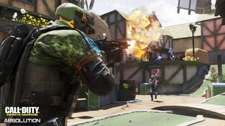 Mapa Fore en Call of Duty: Infinite Warfare Absolution