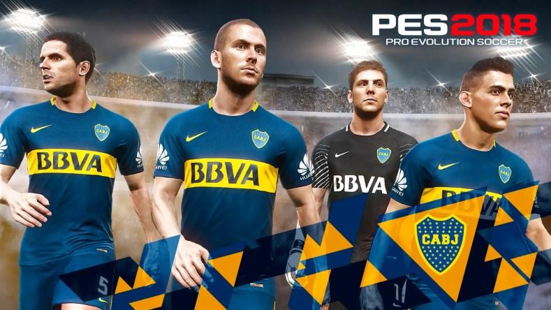PES 2018 adquirió la licencia de la Superliga