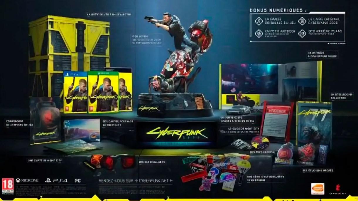 edição de colecionador do Cyberpunk 2077