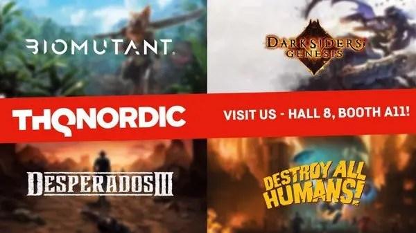 THQ Nordic lançará novos jogos na Gamescom 2019