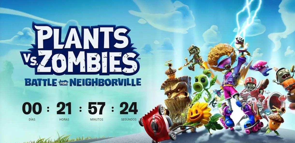 Plantas vs.  Zombies: Battle for Neighborville será revelado amanhã