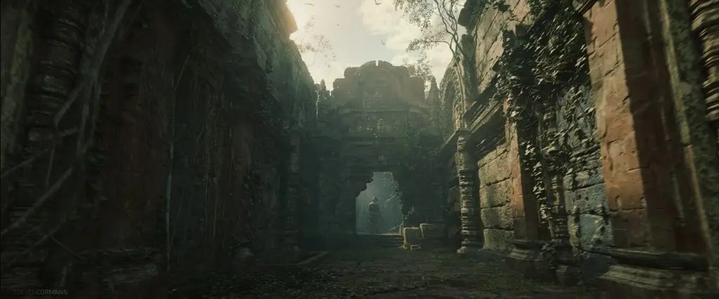 Concept arts of the new Indiana Jones game