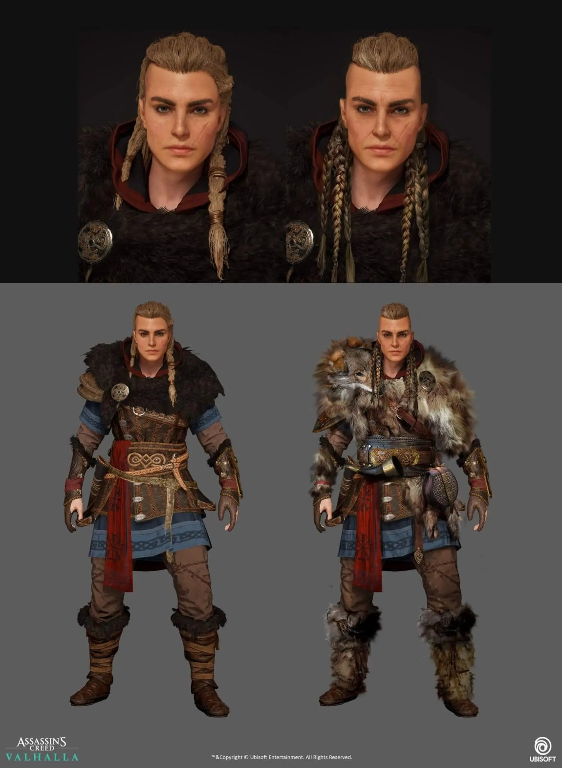 Eivor aging over time in upcoming Assassin's Creed Valhalla expansions