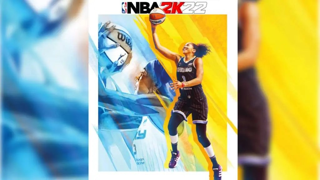 Candace Parker is the first female superstar to star on an NBA 2K cover