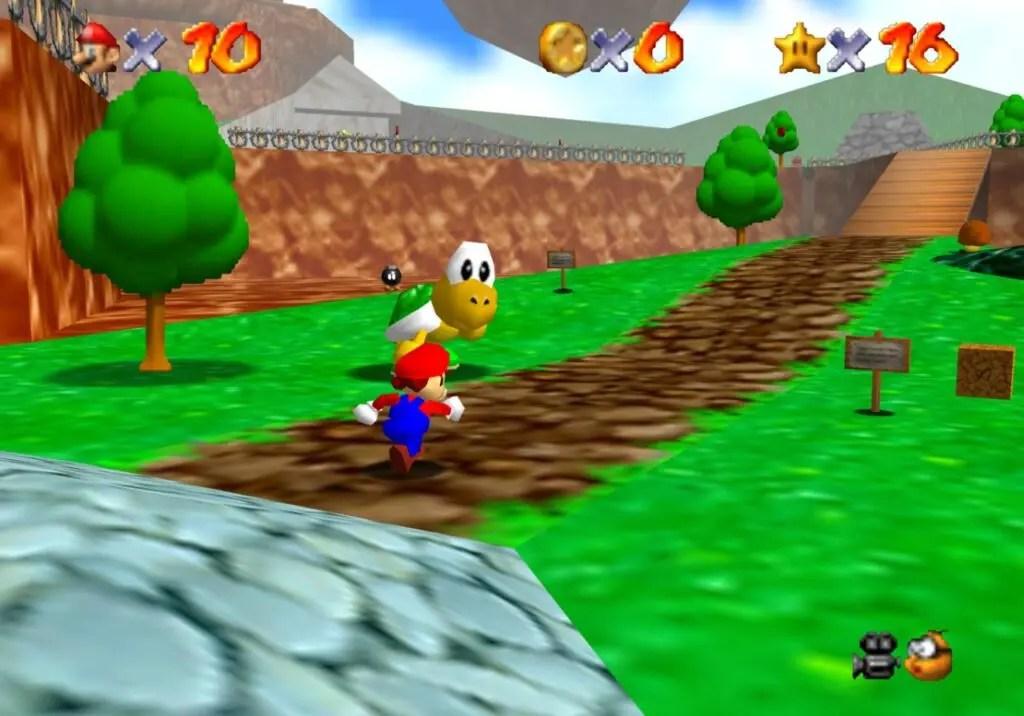 Super Mario 64 on Xbox