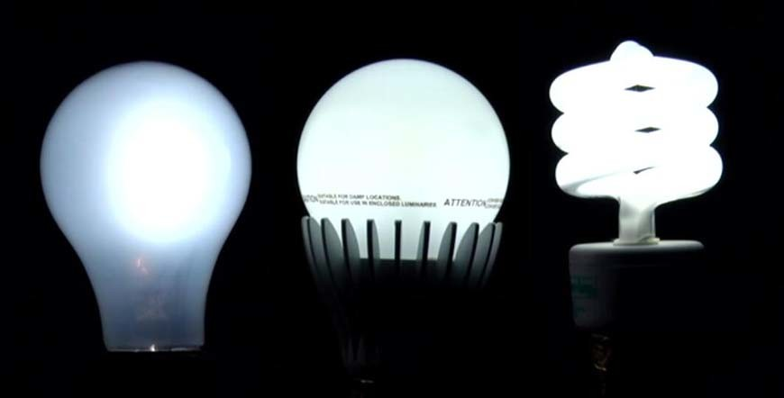 diffierence between LED and CFL