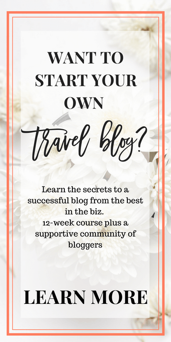 Want to start your own travel blog