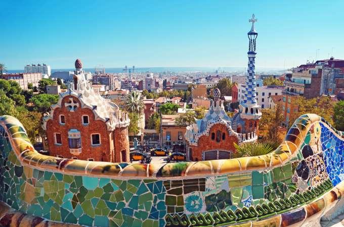 Barcelona Spain Travel - Parc Guell Walking Tour