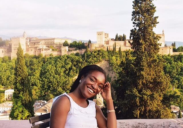 Why Granada is the Best Place to Visit in Spain - Me in Front of La Alhambra