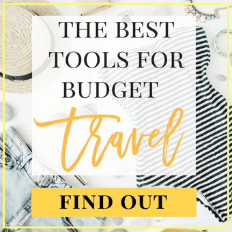 Find out about the best travel essentials for budget travel