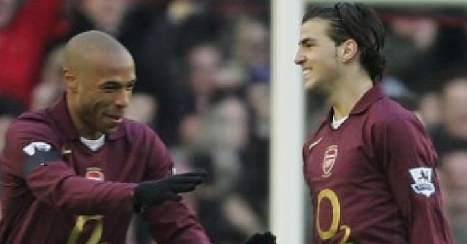 Henry and Fabregas