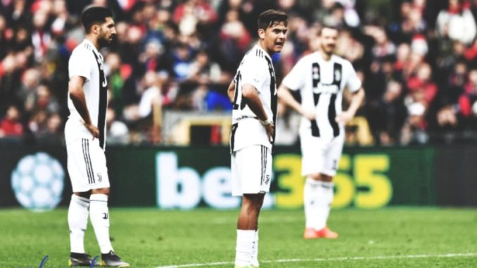 Juventus loses to Spal as Ronaldo is left out.