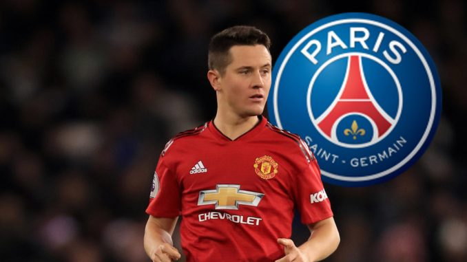 Man. United fans displeased as Herrera PSG shirt is unveiled