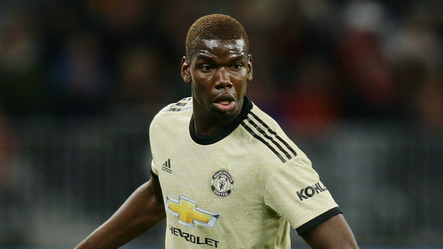 Pogba increases exit suspense as he gives two lines answer to reporters.