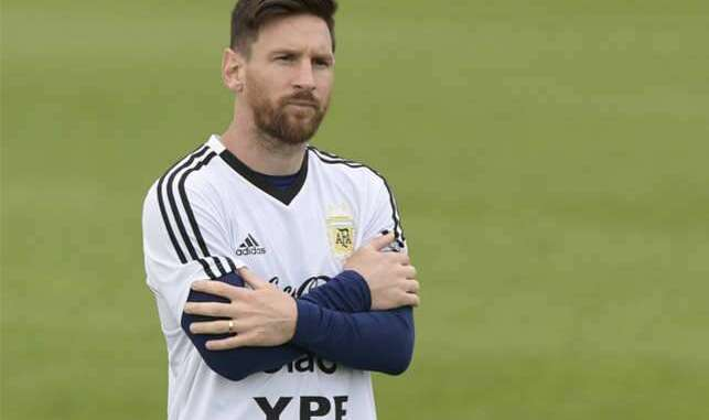 The referee didnt care for us as he promised me Lionel Messi