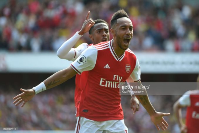 Aubameyang to become Arsenal top earning player if Arsenal finished top 4