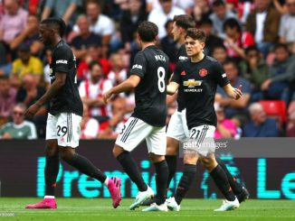 Daniel James' shot power puts Man United in front against Southampton
