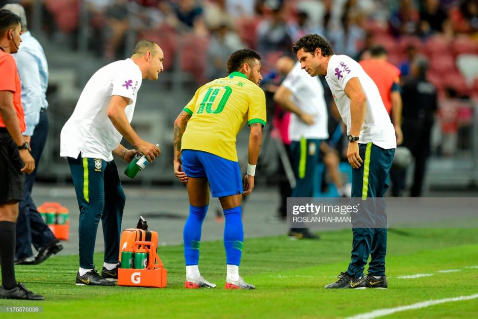 Neymar might face another set back as he leaves Nigeria friendlies early in tears