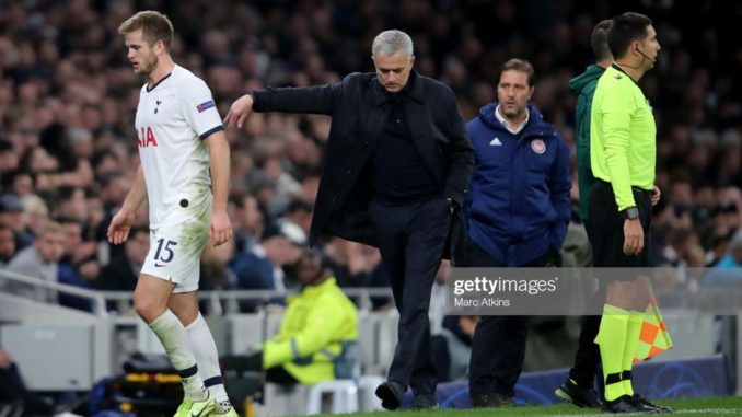 Mourinho apologizes to Eric Dier for early sub