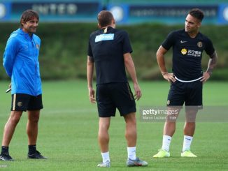 Conte is making me do a great job Lautaro Martinez