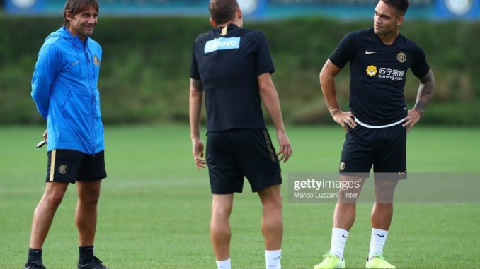 Conte is making me do a great job - Lautaro Martinez