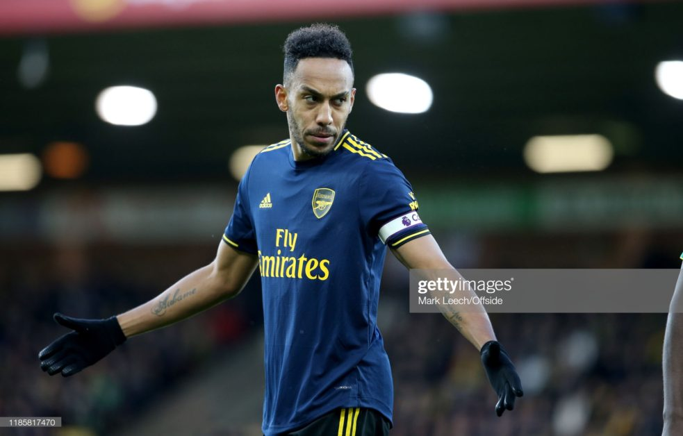 Inter Milan and Real Madrid on Auba as he refuses to extend Arsenal contract
