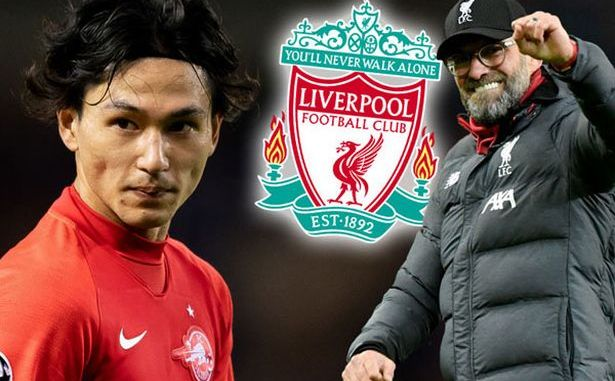 Liverpool agreed terms with Minamino 1
