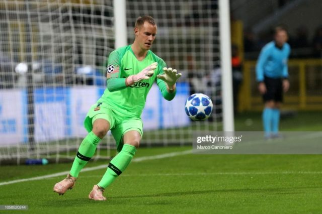 Ter Stegen hints on his future at Barcelona1