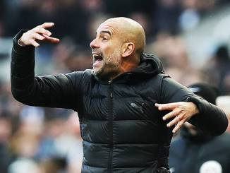 Pep Guardiola frustrated with City's defence 1