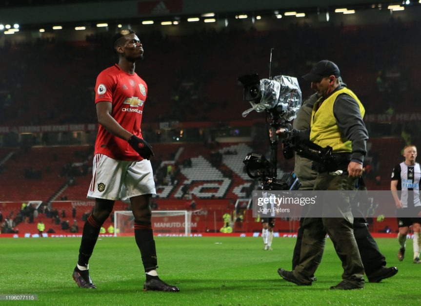 Pogba needs to leave Man United to save his name - Evra