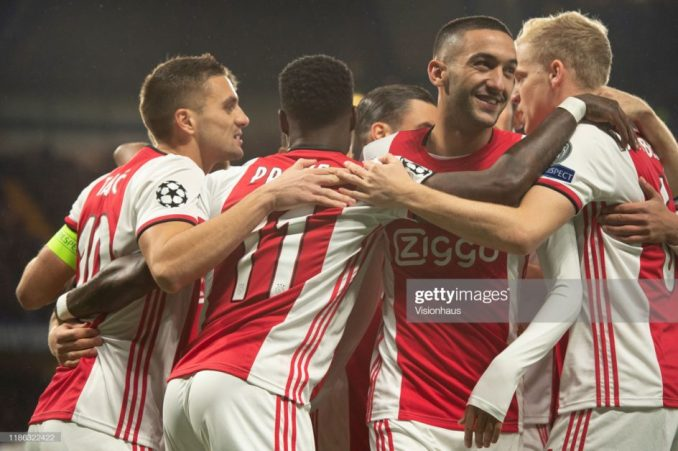 Blue Hakim; Ziyech pens downs 5-year Chelsea contract 3