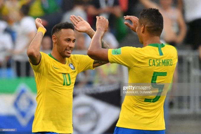 I wished for Neymar to join Real Madrid - Casemiro 1