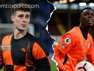 Frustrated Kepa Makes Blows Hot After Losing Spot To Mendy