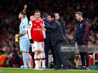 Arteta excites Arsenal fans as he disclosed Ozils fate after squad flush